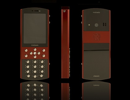 Mobiado Classic 712ZAF Luxury Phone Red