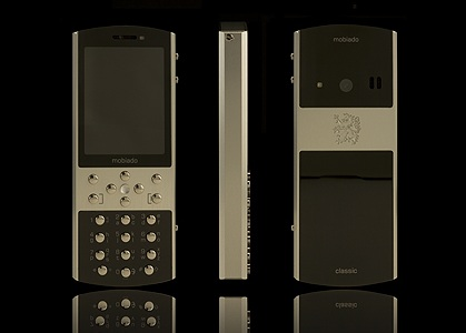 Mobiado Classic 712ZAF Luxury Phone Silver
