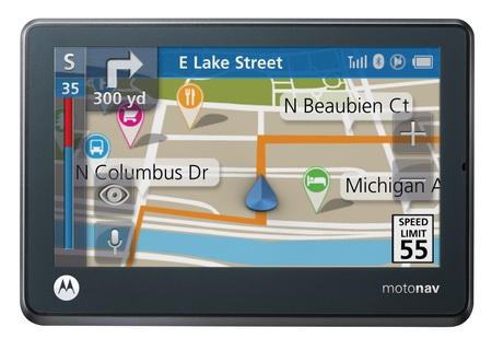 Motorola MOTONAV TN500 series GPS