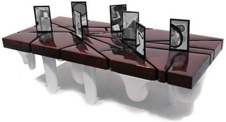 Nanobrick Miyoul OLED Media Frames ceramic