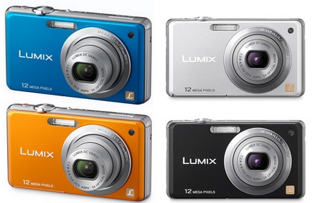 Panasonic Lumix DMC-FS10 digital camera colors