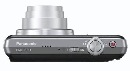 Panasonic Lumix DMC-FS33 Digital Camera top