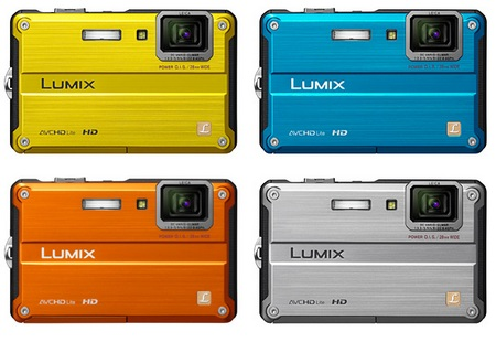 Panasonic Lumix DMC-TS2 Rugged Digital Camera colors