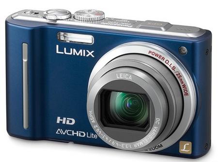 Panasonic Lumix DMC-ZS7 Digital Camera geotagging Blue