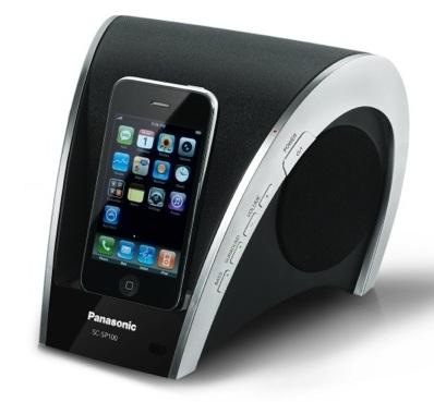 Panasonic SC-SP100 iPod Audio System