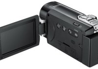 Samsung SMX-F40, SMX-F43, and SMX-F44 Camcorders with 65x Zoom back