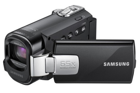 Samsung SMX-F40, SMX-F43, and SMX-F44 Camcorders with 65x Zoom