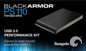 Seagate BlackArmor PS110 USB 3.0 Portable Hard Drive Kit
