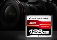 Silicon Power 400X 128GB CompactFlash