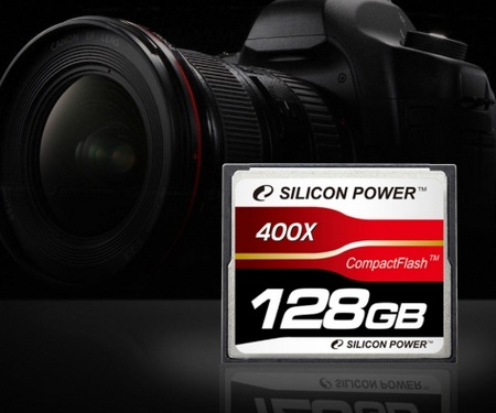 Silicon Power 400X 128GB CompactFlash
