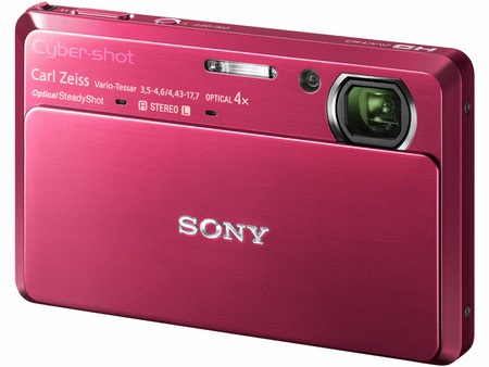 Sony Cyber-shot DSC-TX7 1080i AVCHD Digital Camera Pink