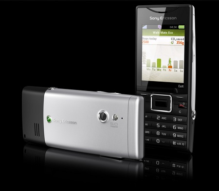 Sony Ericsson Elm GreenHeart Phone