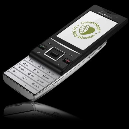 Sony Ericsson Hazel GreenHeart Phone
