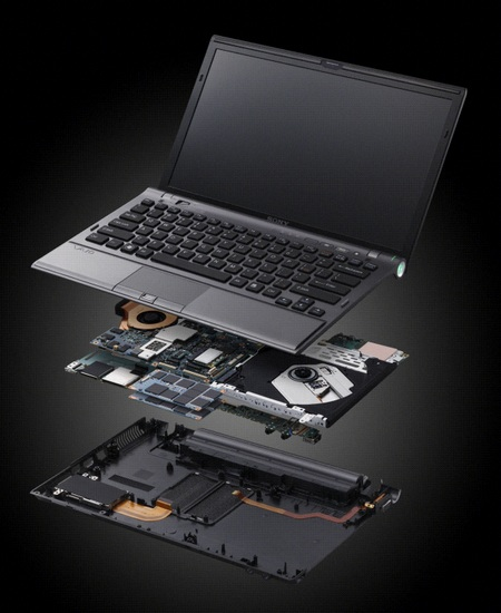 Sony VAIO Z Series Disassembled