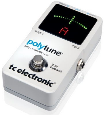 TC Electronic PolyTune - the world's first polyphonic tuner
