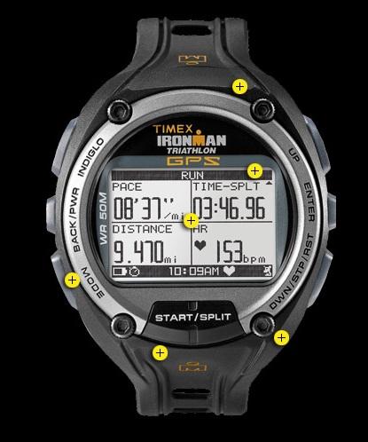Timex Ironman Global Trainer Bodylink Watch