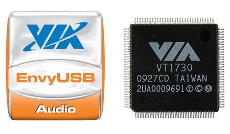VIA Vinyl Envy VT1730 USB 2.0 Audio Controller