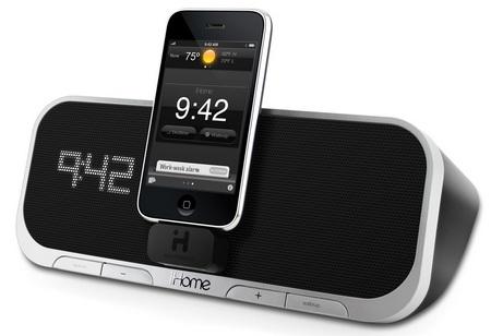 iHome iA5 and iA100 App-Enhanced iPod/iPhone Speaker Systems