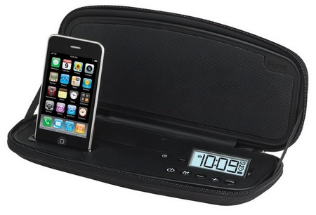iHome iP48 Stereo Alarm Clock for iPhone ipod