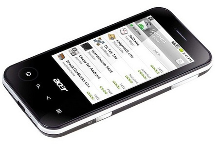 Acer beTouch E400 Android 2.1 Phone 1