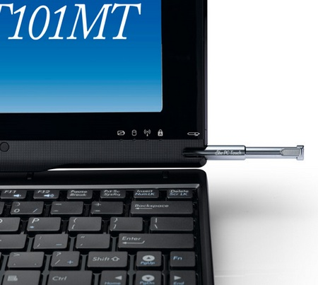 Asus Eee PC T101MT Multitouch Netbook stylus