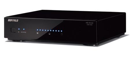 Buffalo HD-AV500U2-SC hard drive for PS3 torne