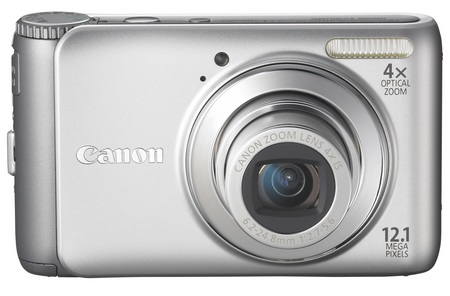 Canon PowerShot A3100 IS digital camera silver