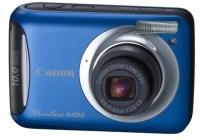 Canon PowerShot A495 entry-level digicam blue
