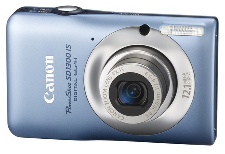 Canon PowerShot SD1300 IS Digital Camera blue