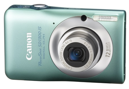 Canon PowerShot SD1300 IS Digital Camera green