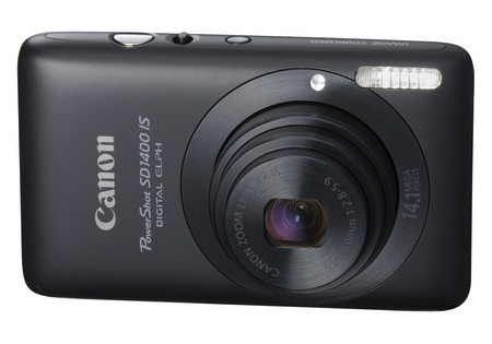 Canon PowerShot SD1400 IS digital camera black