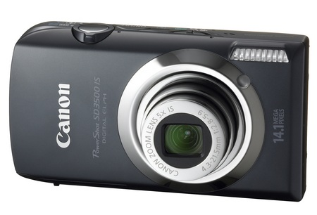 Canon PowerShot SD3500 IS ELPH Digital Camera black