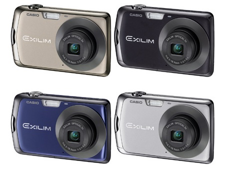 Casio EXILIM EX-Z330 Digital Camera colors