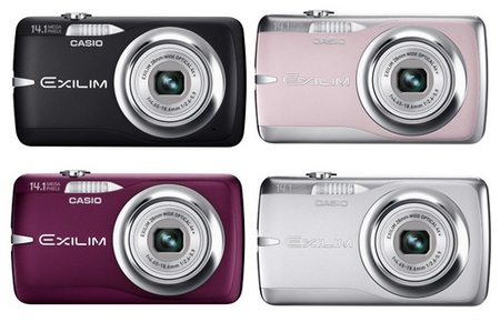 Casio EXILIM EX-Z550 Digital Camera colors