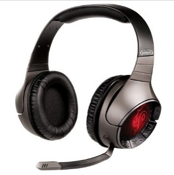 Creative Sound Blaster World of Warcraft Wireless Headset red