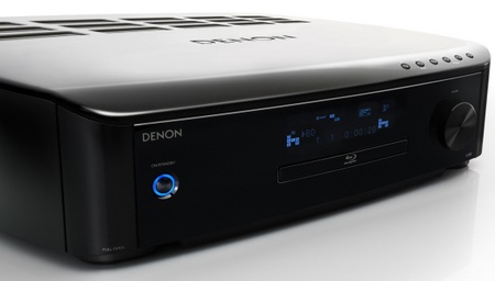 Denon S-5BD 5.1-Channel AV Receiver Blu-ray Player combo angle