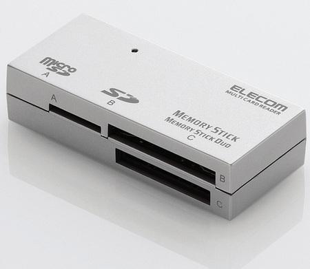 Elecom MR-A002 SDXC Card Reader