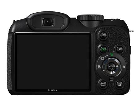 FujiFilm FinePix S2550HD 18x Zoom Camera back