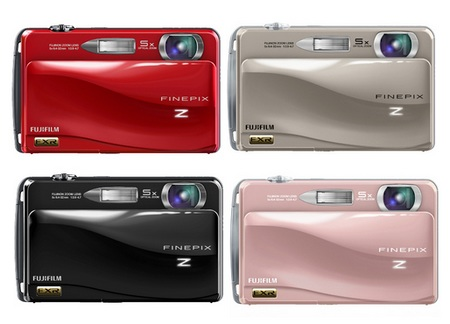 FujiFilm FinePix Z700EXR Digital Camera colors