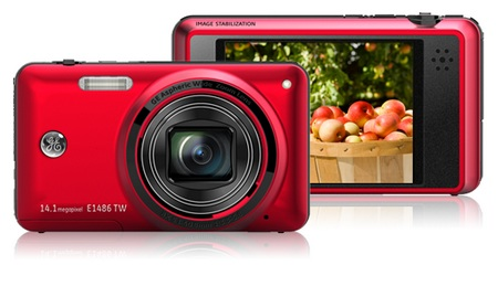 General Imaging E1486TW and E1480W Digital Cameras Red