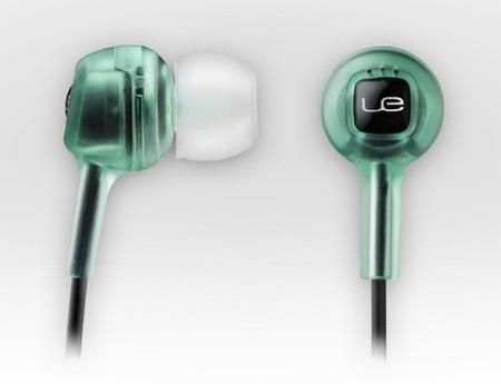 Logitech Loud Enough Noise-Isolating Earphones for Kids green