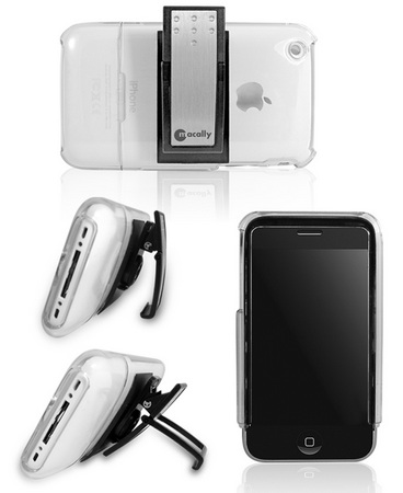 Macally IceCase iPhone 3G case with Belt Clip and Stand