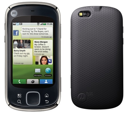 Motorola Quench / CLIQ XT Android Phone with MOTOBLUR