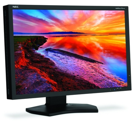 NEC MultiSync PA241W LCD Display for Professional Graphics