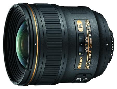 Nikon AF-S NIKKOR 24mm f-1.4G ED lens