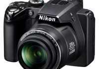 Nikon CoolPix P100 with 26x optical zoom angle
