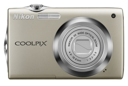 Nikon CoolPix S3000 digital camera silver