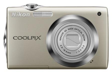 Nikon CoolPix S3000 digital camera silver