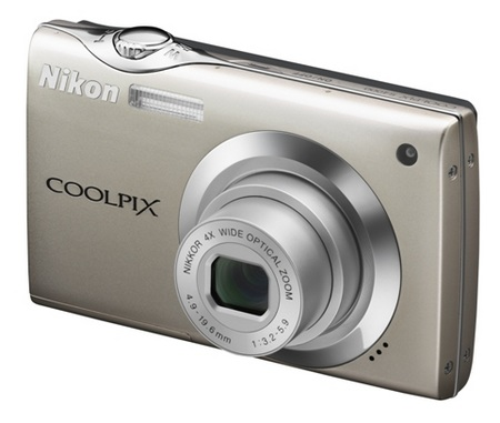 Nikon CoolPix S4000 Touchscreen Digital Camera silver