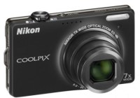 Nikon CoolPix S6000 Digital Camera Black